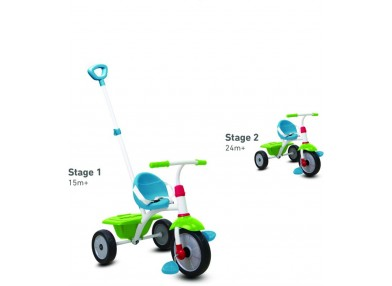Smart Trike Τρίκυκλο Fun-Red/Green/Blue (1240100)